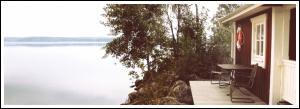 Sjöstuga vid Paradis Fiskecamp